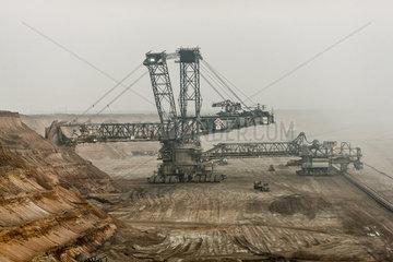 Tagebau Garzweiler im Rheinischen Braunkohlerevier