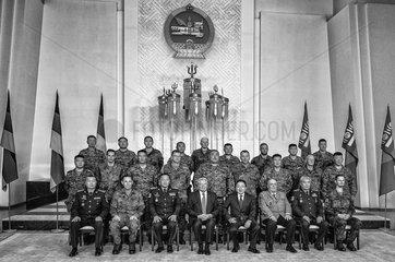 Soldaten + Gauck + Elbegdorj