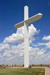Groom  USA  das groesste christliche Kreuz der westlichen Hemisphaere