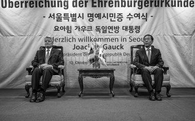 Gauck + Won-soon