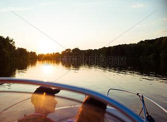 Bootfahren auf der Havel