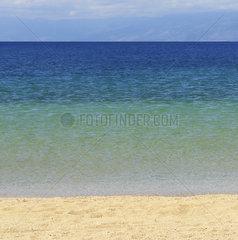 Strand auf der kroatischen Insel Rab