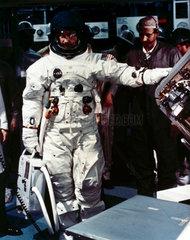 Apollo 9 astronaut James McDivitt  1969.