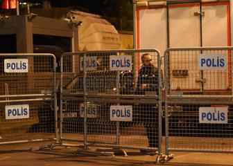 TURKEY-ISTANBUL-SAUDI CONSULATE-MISSING JOURNALIST-SEARCH