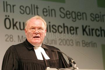 EKD Ratsvorsitzende Manfred Kock