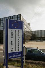 Luxemburg  Grossherzogtum Luxemburg  das Jean Monnet Gebaeude