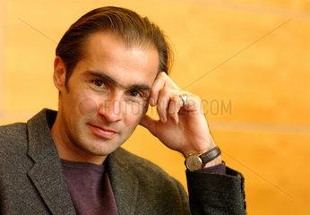 Aris Fioretos  Schriftsteller und Botschaftsrat der Schwedischen Botschaft