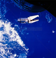The 'Angry Alligator' in Earth orbit  1966.