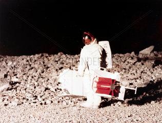 Practising lunar surface activities  1968.