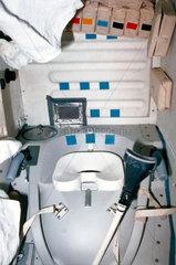 Space Shuttle lavatory  1980s.