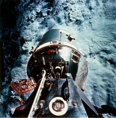 Apollo 9 Command and Lunar Modules  1969.
