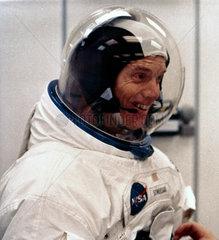 Apollo 9 astronaut Russell Schweickart  1969.