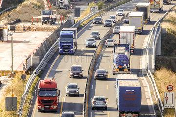 Autobahn A1 Lengerich - Autobahnkreuz Lotte
