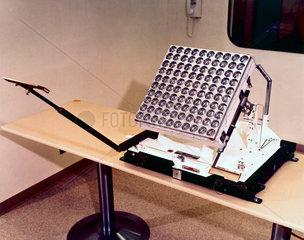 Laser retro-reflector  Apollo 11 experiment  1969.