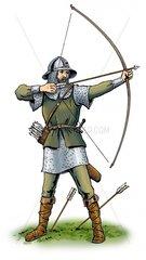Bogenschuetze Mittelalter