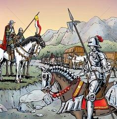 Bewachung Mittelalter
