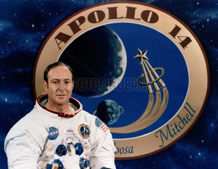 Apollo 14 astronaut Ed Mitchell  December 1970.