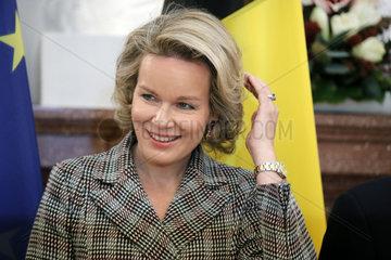 Schloss Bellevue - Treffen Steinmeier mit belgischem Koenigspaar
