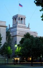 Berlin  Deutschland  die Botschaft der Russischen Foederation