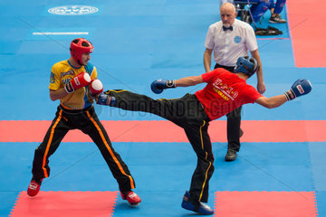 (SP)HUNGARY-BUDAPEST-KICKBOXING-WORLD CHAMPIONSHIPS
