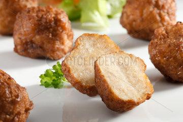 Riedlingen  Deutschland  geformte Fleischkloesschen