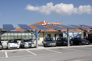 Autogrill in Italien