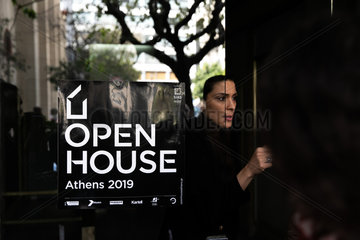 GREECE-ATHENS-OPEN HOUSE-ARCHITECTURE