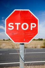 Sevilla  Stoppschild