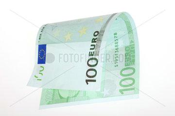 Berlin  Deutschland  ein 100-Euroschein