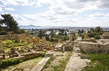 Karthago Tunesien