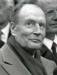 Francois Mitterand  Portrait  1989