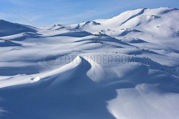 Krippenbrunn  Oesterreich  Schneelandschaft
