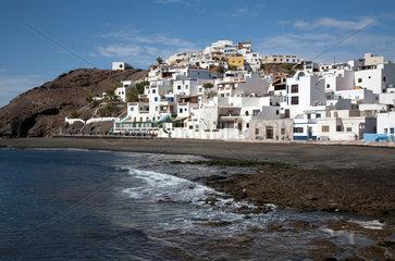 Las Playitas  Spanien  der Kuestenort Las Playitas auf der Kanareninsel Fuerteventura