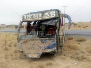 PAKISTAN-QUETTA-BUS-ACCIDENT