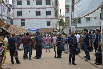 BANGLADESH-NARSINGDI-RAID
