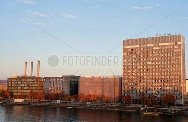 Basel  Schweiz  Sitz der Novartis AG