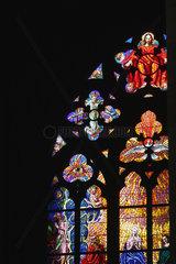 St.-Veits-Dom Glasfenster