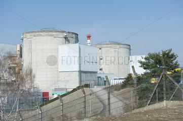 Fessenheim  Frankreich  das Kernkraftwerk Fessenheim