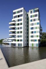 Hamburg  Deutschland  WaterHouses der Internationalen Bauausstellung IBA