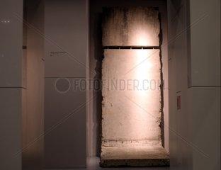 Berliner Mauer im Museum