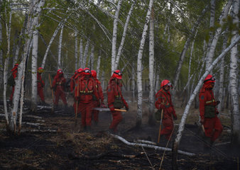 CHINA-INNER MONGOLIA-HULUNBUIR-FOREST FIRE (CN)