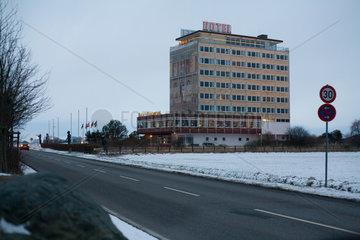 Puttgarden  Deutschland  das Hotel Dania