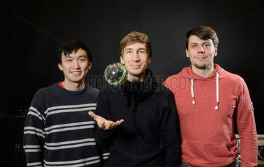 Berlin  Deutschland  Erfinder der Ballwurfkamera
