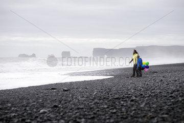 Iceland  Reynisfjara