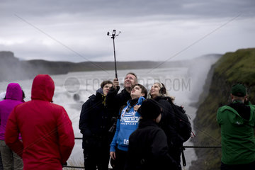Iceland  Gullfoss