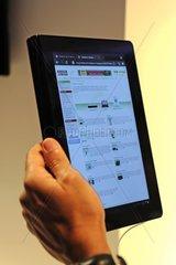 Sony Tablet PC auf der Internationalen Funkausstellung IFA 2011  Berlin  Deutschland Europa