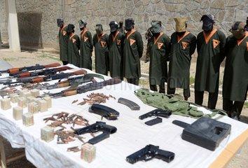AFGHANISTAN-KANDAHAR-MILITANTS-ARREST