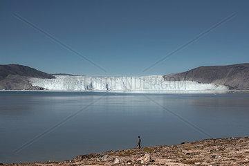 Eqip Sermia Gletscher auf Groenland