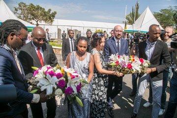 RWANDA-KIGALI-GENOCIDE-BELGIAN PEACEKEEPERS