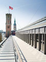 Alte Post am Bleichenfleet  Hamburg
